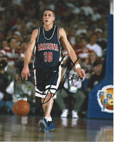 MIKE BIBBY UNIVERSITY OF ARIZONA SIGNED AUTHENTIC 8x10 PHOTO B w/COA 1997 CHAMPS