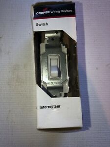 Light Switch Cooper Wiring Devices