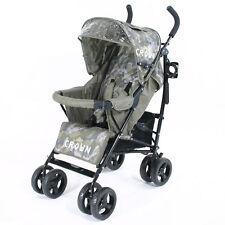 CROWN Buggy Kinderwagen DELUXE  leicht handlich Top Qualität Kinderbuggy Karre