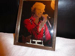 David Bowie very rare original vintage carnival glass mirror Red Shirt