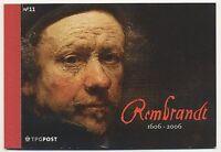 Netherlands 2006 Rembrandt prestige booklet   mnh GB