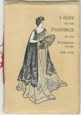 1901 Guide to Paintings at the Wanamaker Department Store, New York City