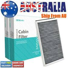 2X Activated Carbon Cabin Air Filter For Alpina B5 B6 Bmw 5 6 Series 64319171858