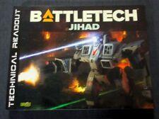 OEJ ~ Classic Battletech ~ Jihad Technical Readout