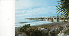 postcard USA  Florida Fishing Pier at Venice Florida posted