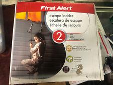 First Alert 2-Story Fire Escape Anti-Slip Ladder   14'   +1125 lbs
