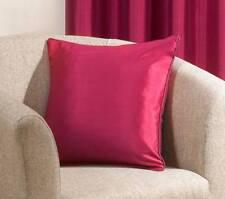 Ravello Seda Artificial Funda de cojín fucsia rosa brillante cuadrado 43.2cm X