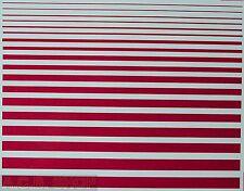 Stripes Magenta Strips Magenta Pantone 521 C 1:24 Decal