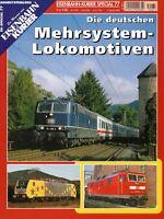 Eisenbahn Kurier EK Special Heft 77 Mehrsystem Lokomotiven Br 181 etc Bundesbahn