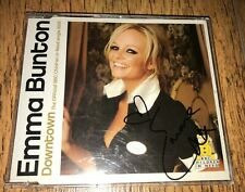 Emma Bunton Signed 'Downtown' CD Single (Spice Girls interest)