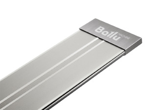 "INFRARED HEATER ""Ballu-Pro Space Heater"" No Glow, Silver. 600W, 800W, 1000W"