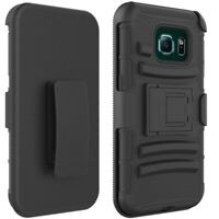 For Samsung Galaxy S7 Edge - Drop-proof Holster Case Hybrid Cover Swivel Belt