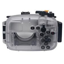 Mcoplus 40m/130ft Waterproof Underwater Camera Housing Case forSony A6300 Camera