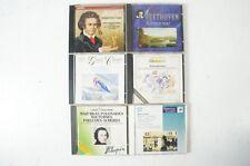 Beethoven Grieg Chopin Donizetti Bellini verdi puccini Mozart 6 CD (cd155)