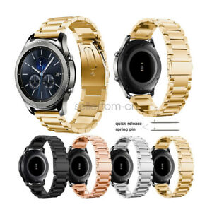 Stainless Steel Strap Watch Band For Samsung Galaxy Gear S3 Frontier/ S2 Classic