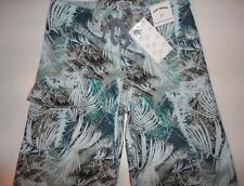 NEW Boy's JUST BONES BOARDWEAR Swim Ttrunks Board Shorts Size 27