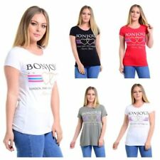 Viscose Stretch Tops & Shirts for Women with Glitter
