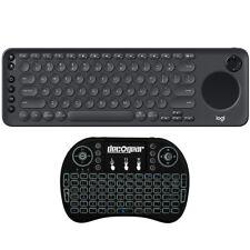 Logitech TV Keyboard Wireless Bluetooth Smart TV Typing and Navigation+Keyboard