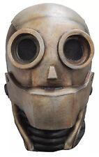 Robot 1.0 Android Adult Latex Mask Steampunk Cosplay Friendly Sci Fi Halloween