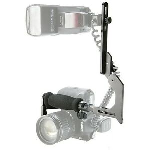 Multi-adjustment Pro-Tilt Flash Bracket for Canon Nikon Sony DSLR