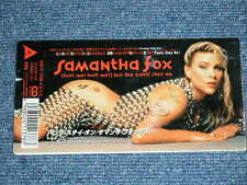 "SAMANTHA FOX Japan Only 1991 Tall 3"" CD Single BUT THE PANTS STAY ON"