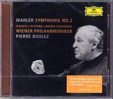 Pierre Boulez: MAHLER SYMPHONY NO. 2 Christine Schäfer Michelle DeYoung CD NUOVO