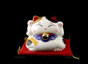 Spardose Katze Japan Maneki Neko Top Qualität SD5 M