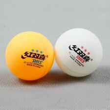 30PCS●DHS● 40mm● Double Happiness ●3-STAR TABLE TENNIS BALL ● MIXED COLOR