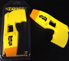 Yellow Halloween Costume Police Zapper TOY Taser Stun Gun w/ Lights & Sound