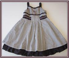 HTF JOTTUM striped SJAANTJE jumper dress holiday plum/brown/purple 122-128 6/7/8