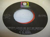 Soul 45 B.B. KING Nobody Loves Me But My Mother / Ask Me No Questions on ABC