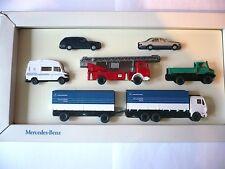 Wiking Mercedes-Benz Set James Cook Feuerwehr Unimog Express Werbemodell 1:87