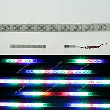 RGB 1FT 12' 30CM 32 Led Knight Rider Strobe Scanner Flexible Strip Light M009
