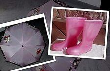 8d9b4921ae5f8 Lotto Scarpe stivali bambina Benetton pioggia 33 boot ombrello lilli  vagabondo