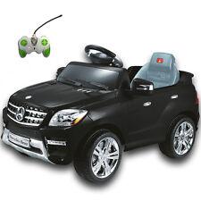 MERCEDES BENZ 2x 25W MOTOR ELEKTROAUTO ML350 ELEKTRO AUTO JEEP SUV RC&MP3 BL NEU