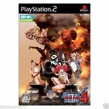 Metal Slug 4 - PS2 NTSC-J - Import Japan Playsation 2 - Neuf