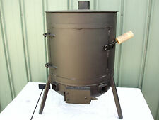 """ SHAFTS "" Pot Belly Wood Heater with cook top ( POSTAGE AVAILABLE )"