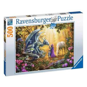 Ravensburger Dragon Whisperer 500 Piece Jigsaw Puzzle NEW