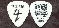 BIG 4 2010 Sonisphere Tour Guitar Pick METALLICA SLAYER MEGADETH concert stage 2