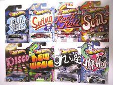 Hot Wheels Jukebox Blues Swing Rock Roll Soul Disco New Wave Hip Hop Music Lot