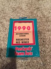 1990 ProCards ROCHESTER RED WINGS-Orioles Minor League UNOPEN Team Set  B2018718