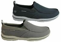 Mens Skechers Harper Walton Relaxed Fit Memory Foam Wide Fit Shoes - ModeShoesAU