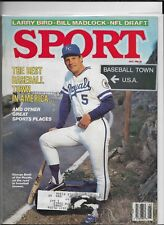 May 1986 Sport Magazine Kansas City Royals George Brett On Cover