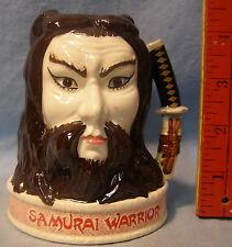 * Royal Doulton Character Liquor Jug * Samurai Warrior