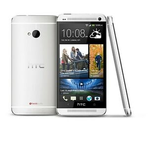 HTC One M7 - Silver(Straight Talk)c Smartphone Cell Phone (Page Plus( HTC6500LVW