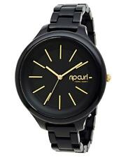 Rip Curl HORIZON ACETATE WATCH Waterproof Surf Watch - A2588G Midnight Gold