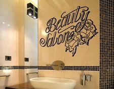 Beauty Salon - highest quality wall decal stickers