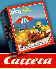 CARRERA PLAY O.K. > CAMPING SPIELSET OVP IN BOX 1991 RARITÄT INKL. MINI KATALOG