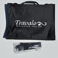 "Sac de cas de document avec bandoulière de marque TRAVALO 11 ""x 15"""