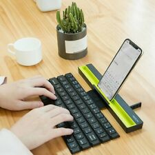 Portable Mini folding Keyboard Wireless Keypad for Smartphone Tablet Laptop PC